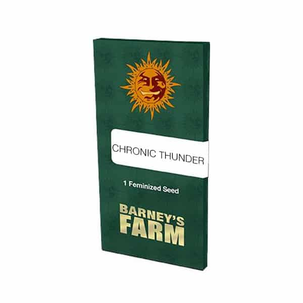 Buy Chronic Thunder seeds from Barneys Farm at Holland's High Fast & Discrete Worldwide Shipping!