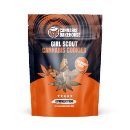 Girl Scout Kush Cannabis Cookies from Cannabis Bakehouse Amsterdam