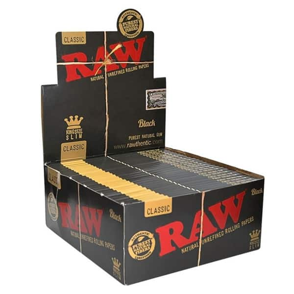 RAW Black Kings Size