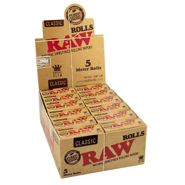 RAW King Size Slim Rolls