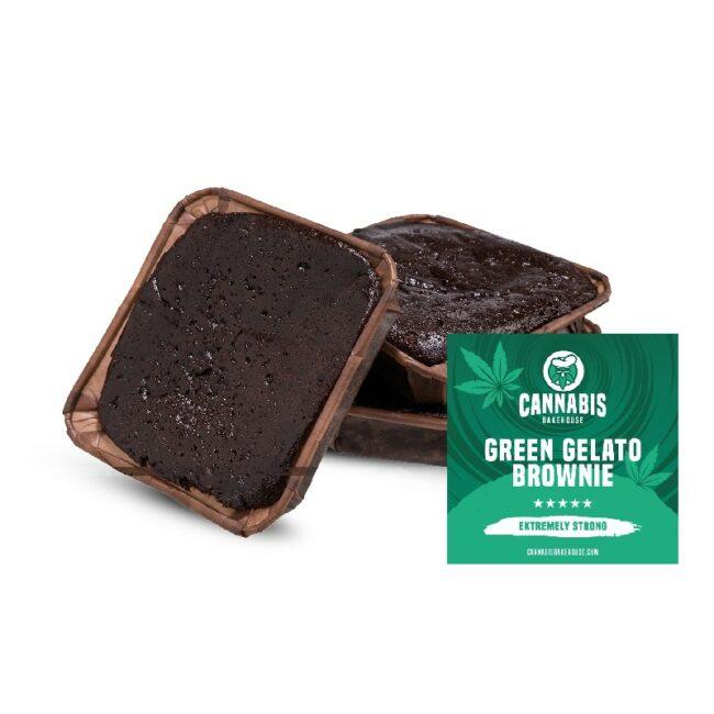 cannabis bakehouse brownie green gelato