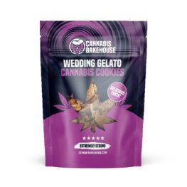 Wedding Gelato Cannabis Cookies from Cannabis Bakehouse Amsterdam