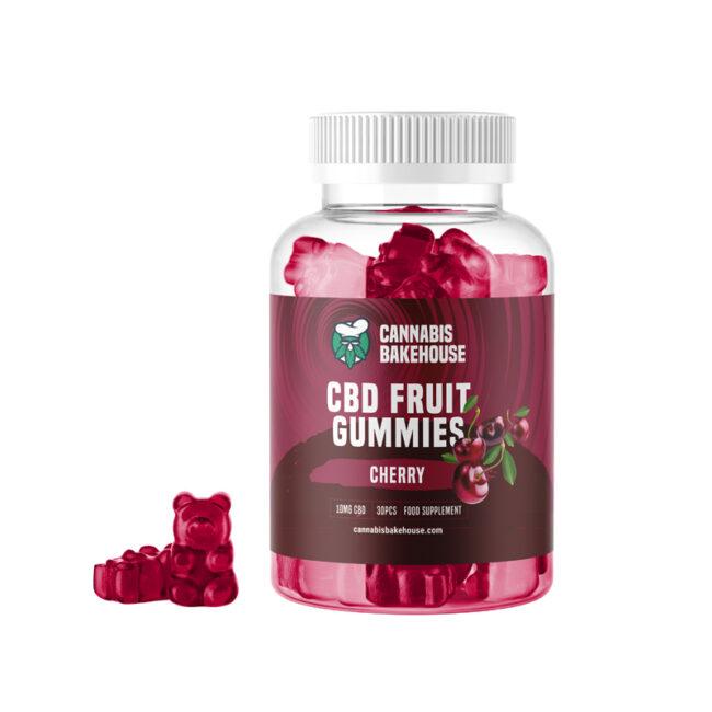 cbd gummy bears cherry